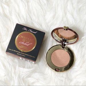 NIB Too Faced Chocolate Gold Soleil Bronzer